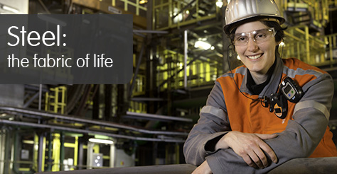 ArcelorMittal Gent - Steel: the fabric of life