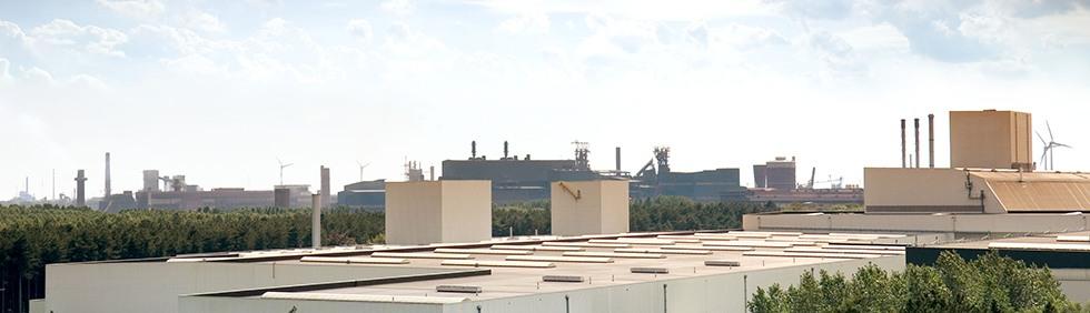 De werkomgeving bij ArcelorMittal Gent