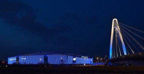 De Ghelamco Arena werd gebouwd met staal van ArcelorMittal Gent