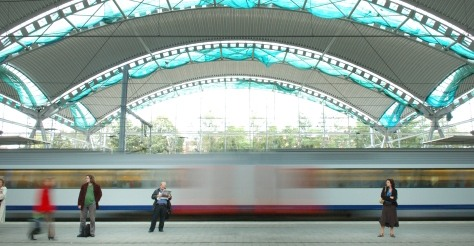 Het station van Leuven is een knap staaltje architectuur